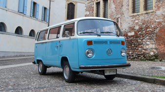 Volkswagen T2 Bus Window 1974