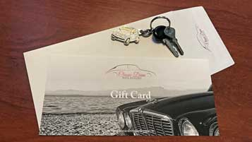 Gift idea: a classic drive for a friend