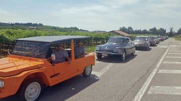 Hire a vintage car for a rally